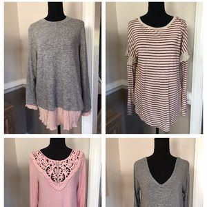 FALL BUNDLE! 4 Women's Tops Perfect for Fall!